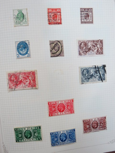 GB QV-1970 mint & used collection in red springback