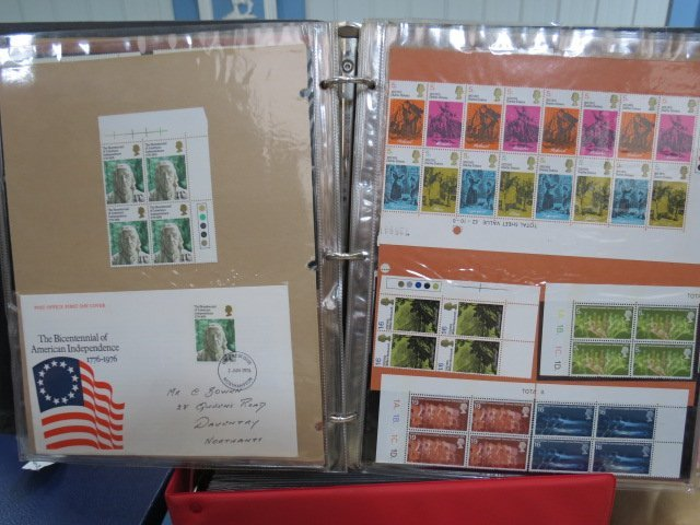 A selection of stamps GB, GVI - QE11 mainly mint in