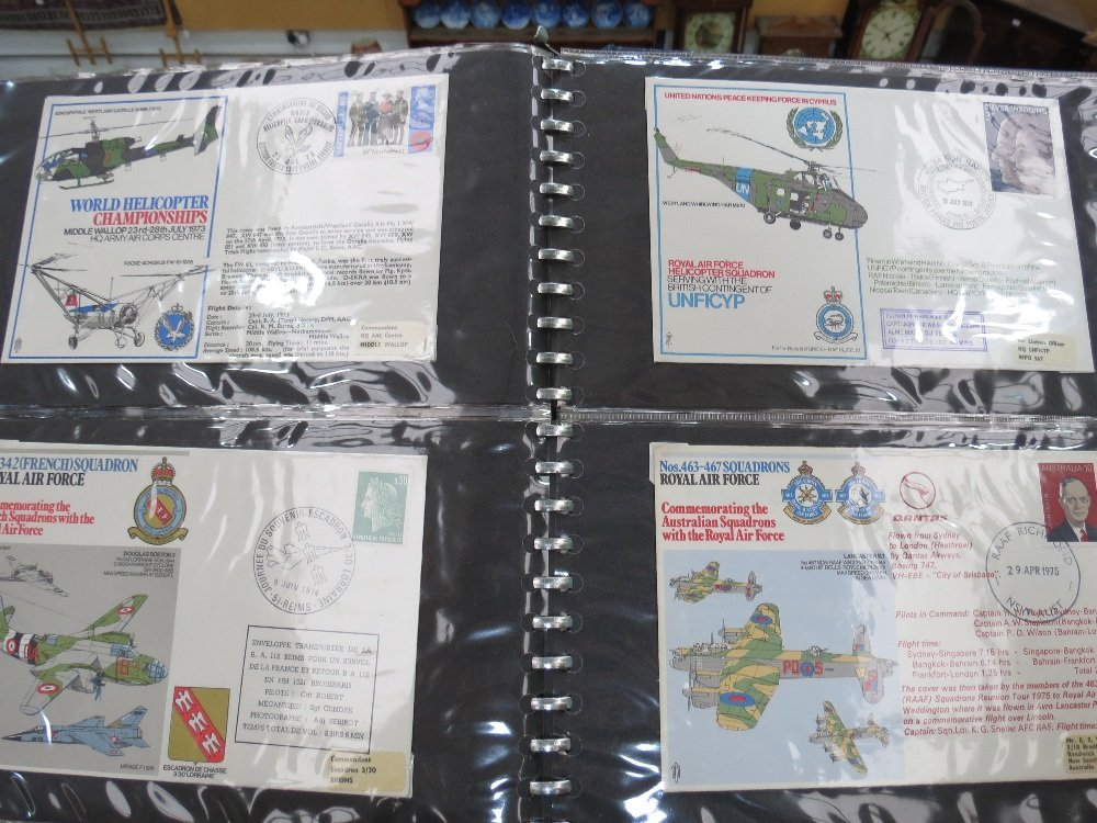 GB stamps 143 RAF and Navy Commemorative covers in two