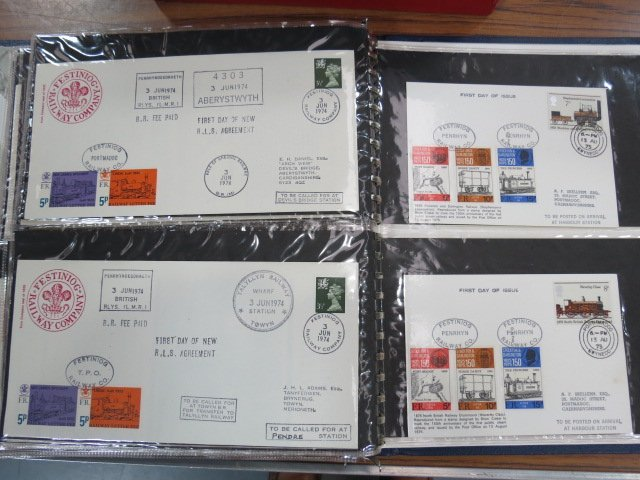 Great Britain - 1969-75 Folder containing 47 nice and
