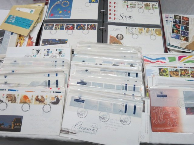 GB FDC mid 1990's to 2005 era, few hundreds mainly in