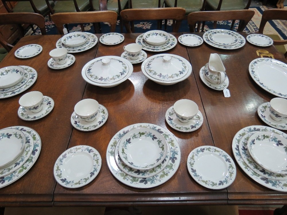 A Royal Doulton dinner service of six place settings of