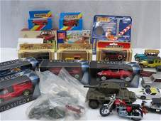 A collection of model cars Days Gone, Lledo, Matchbox