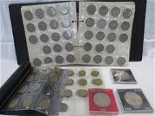 Coin Collectors Album containing a quantity of debased