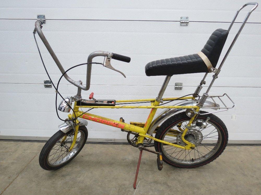 A highly desirable 1970's Raleigh Chopper MK II bike