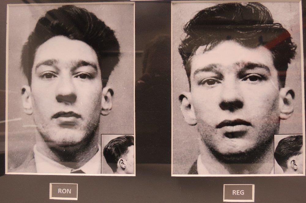 'Mug shot' photographic prints of Ron and Reg Kray's - 2