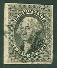 009: US Scott #17, used, ave