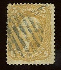011: US Scott #67, used, fine