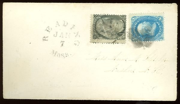 013: US Scott #86-87, used on cover