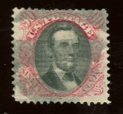 014: US Scott #122, used, fine