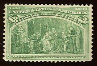 021: US Scott #243, unused, f-vf