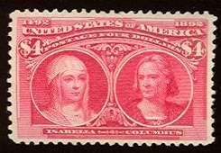 022: US Scott #244, unused, vf