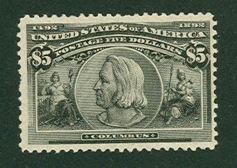 023: US Scott #245, unused, f-vf