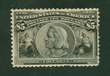 024: US Scott #245, unused, fine