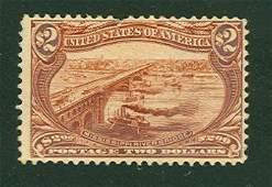026: US Scott #293, unused, fine
