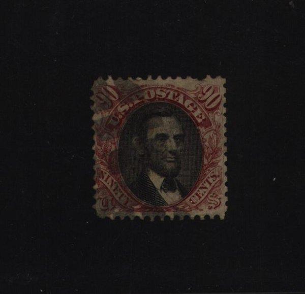 6: US Scott #122, used, fine