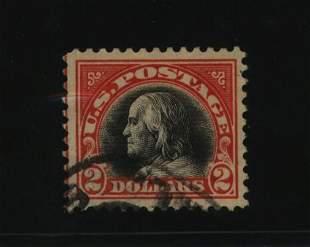 US Scott #523, used