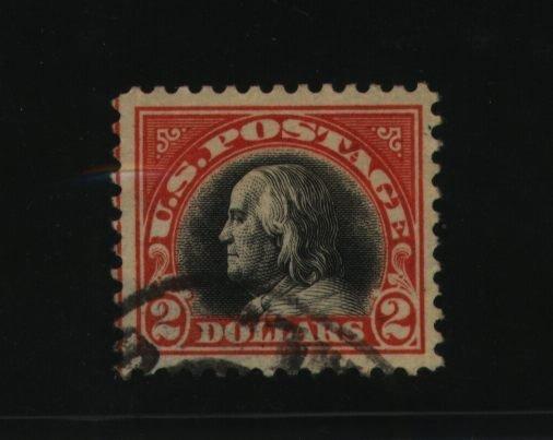 19: US Scott #523, used