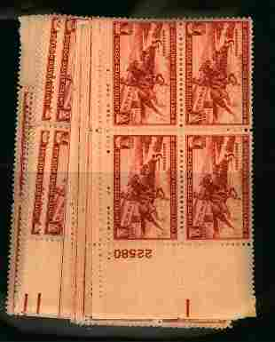 US Scott #894, Pl bl. Wholesale