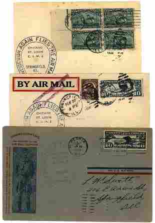 US 1928 Lindbergh flight covers