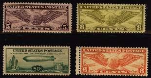 US Scott #C16-C19, airmails
