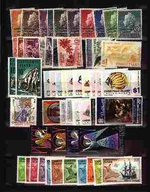 Christmas Island unused collection