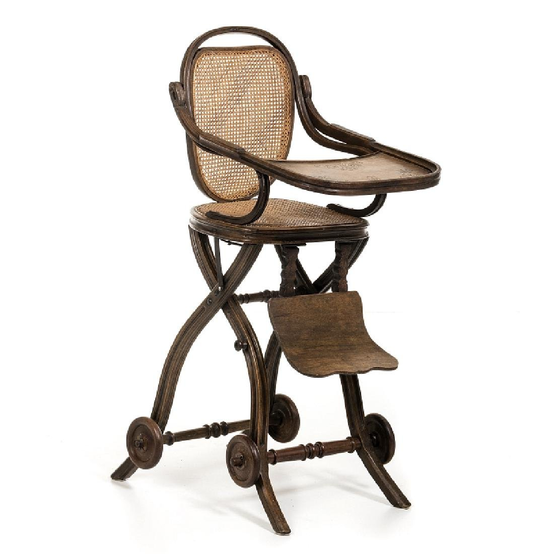 THONET (19th/20th) (Attr.) - Child's meal chair