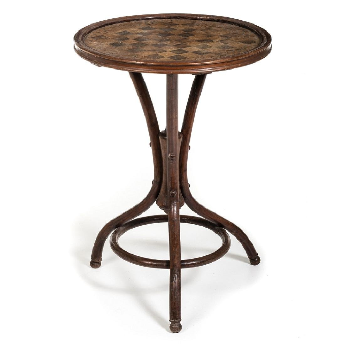 THONET (19th/20th) (Attr.) - Gambling table