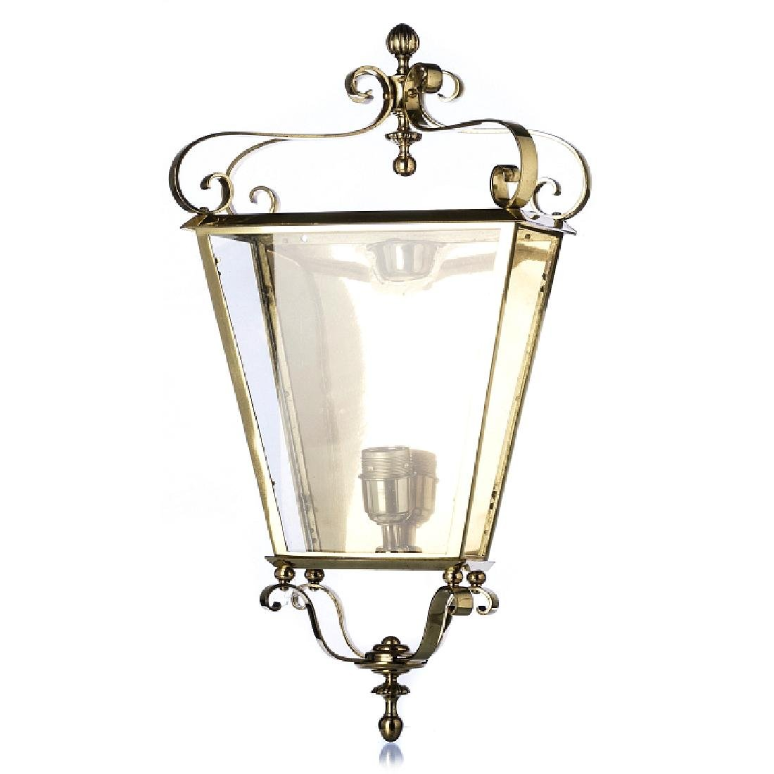Style of FONTANA ARTE - Large wall lantern