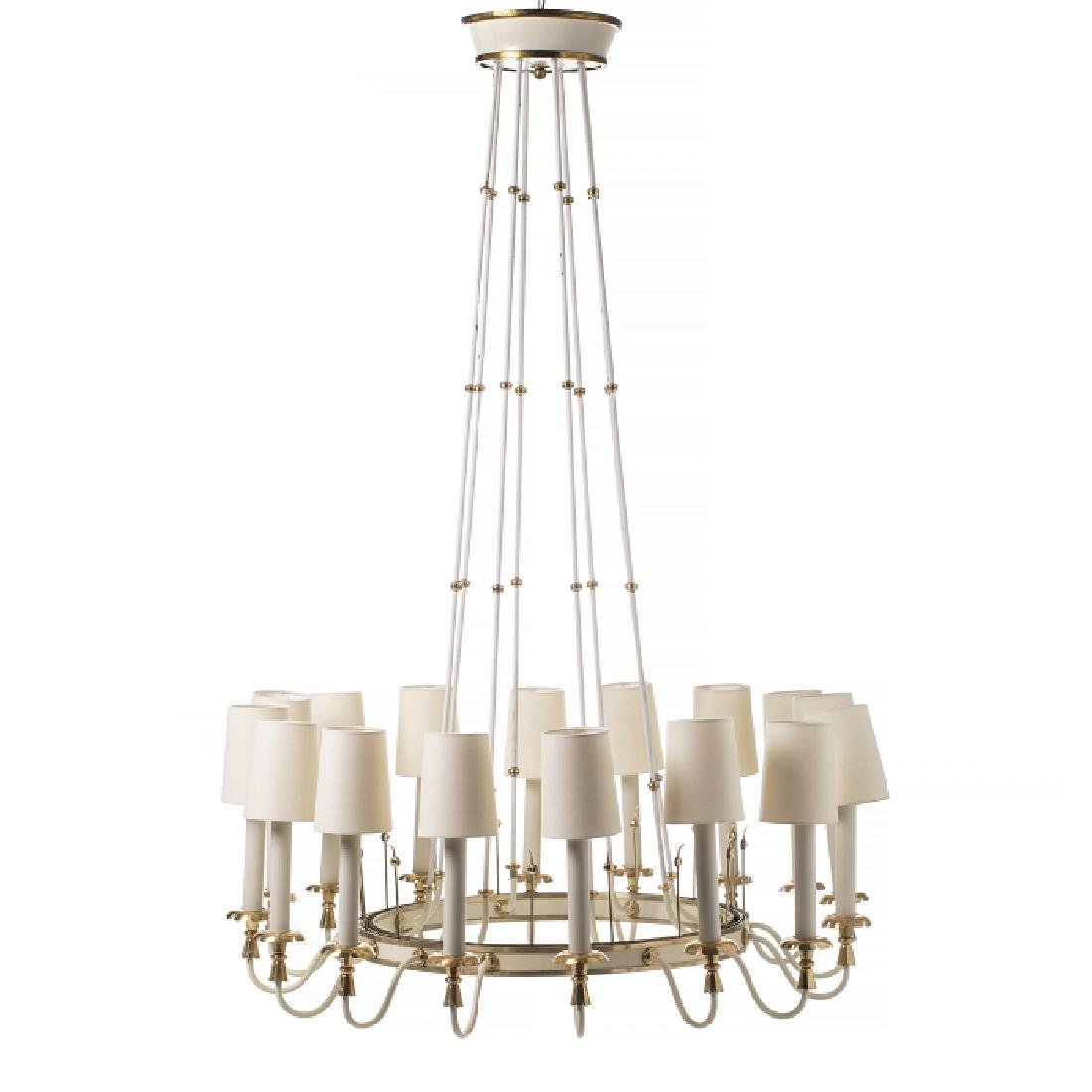 Style of GIO PONTI (1891-1979) - Large chandelier