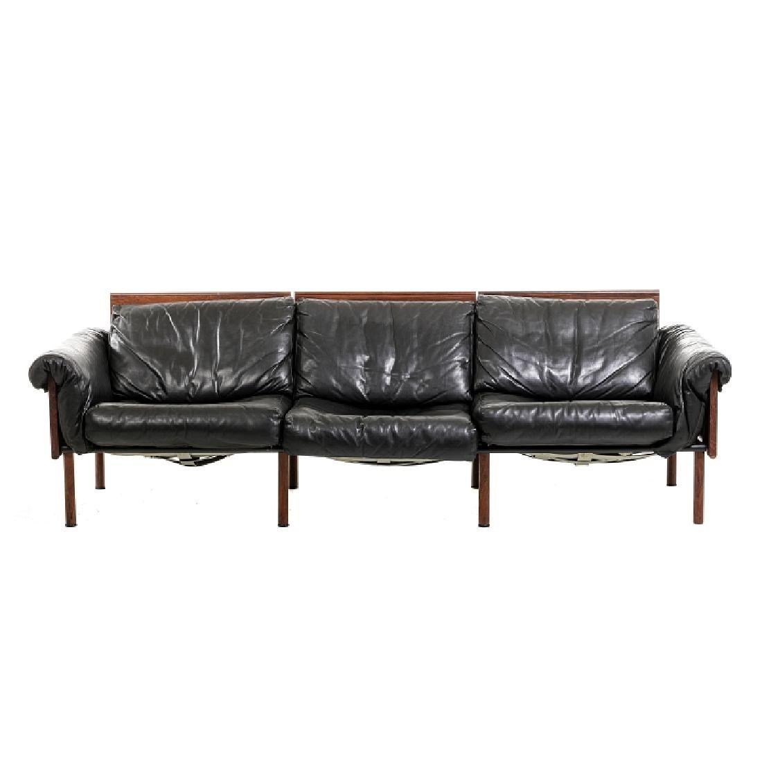 YRJO KUKKAPURO (b. 1933) - Three-seat Ateljee sofa