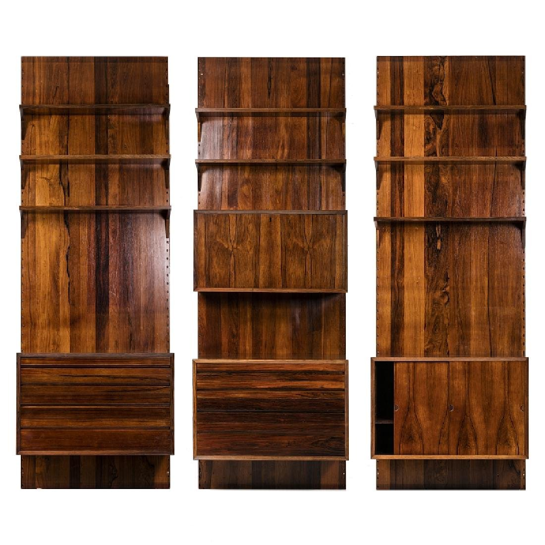 POUL CADOVIUS (1911-2011) - Modernist bookcase with
