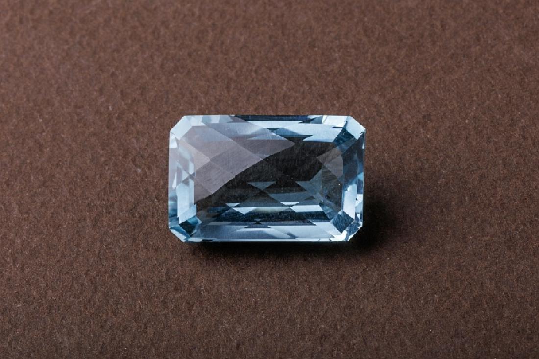 Aquamarine Mineral Specimen Crystal