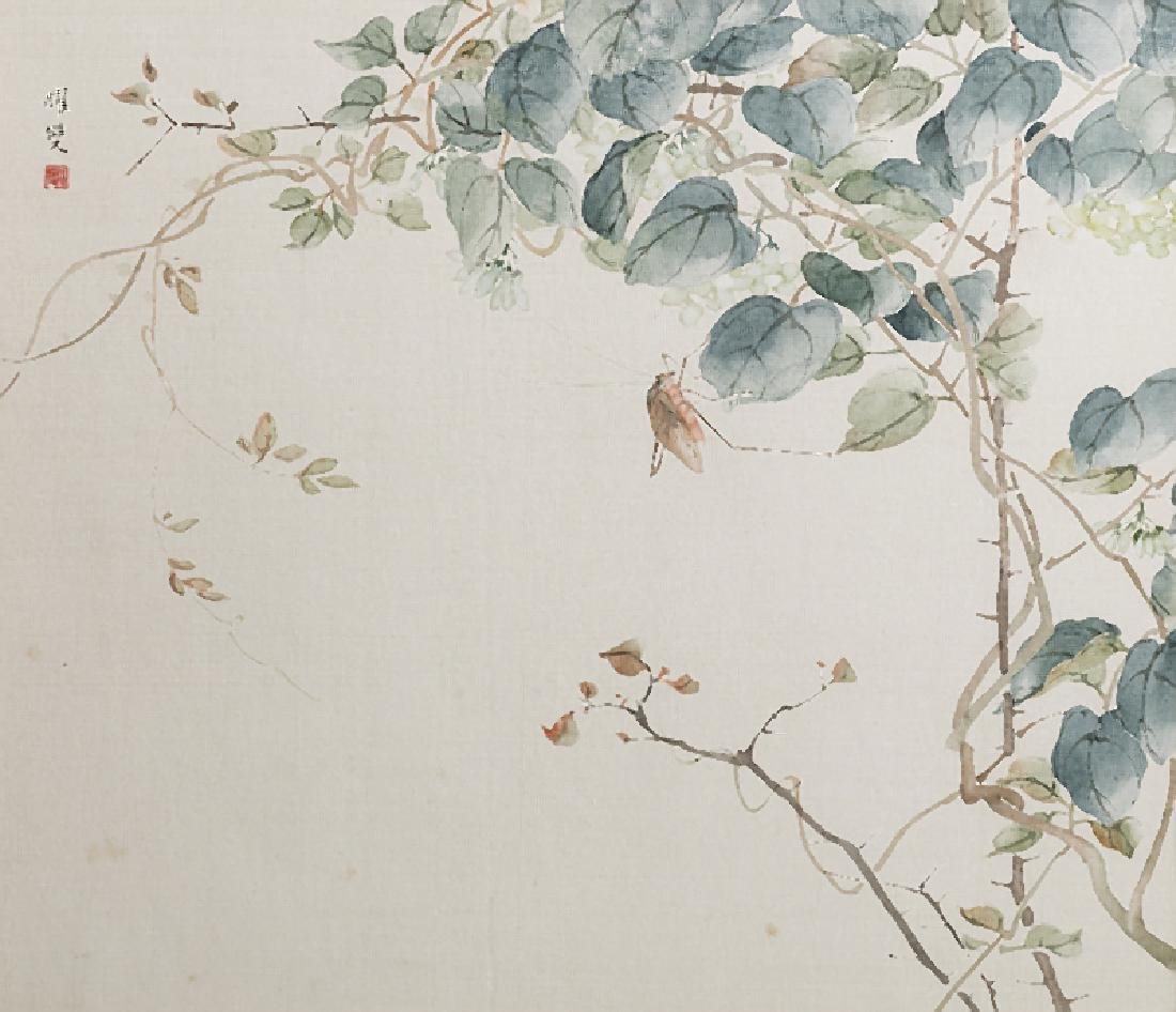 CHINESE SCHOOL - Four watercolours on silk