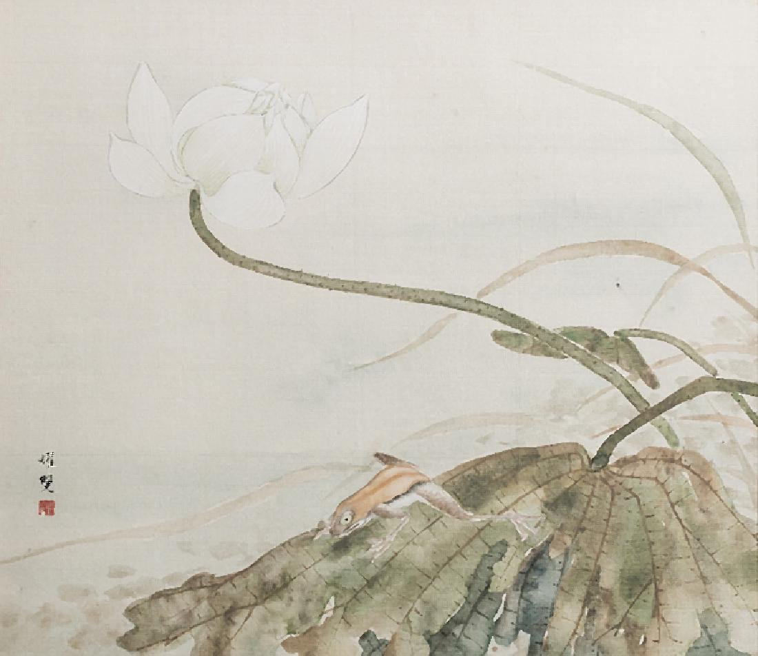 CHINESE SCHOOL - Four watercolours on silk - 3