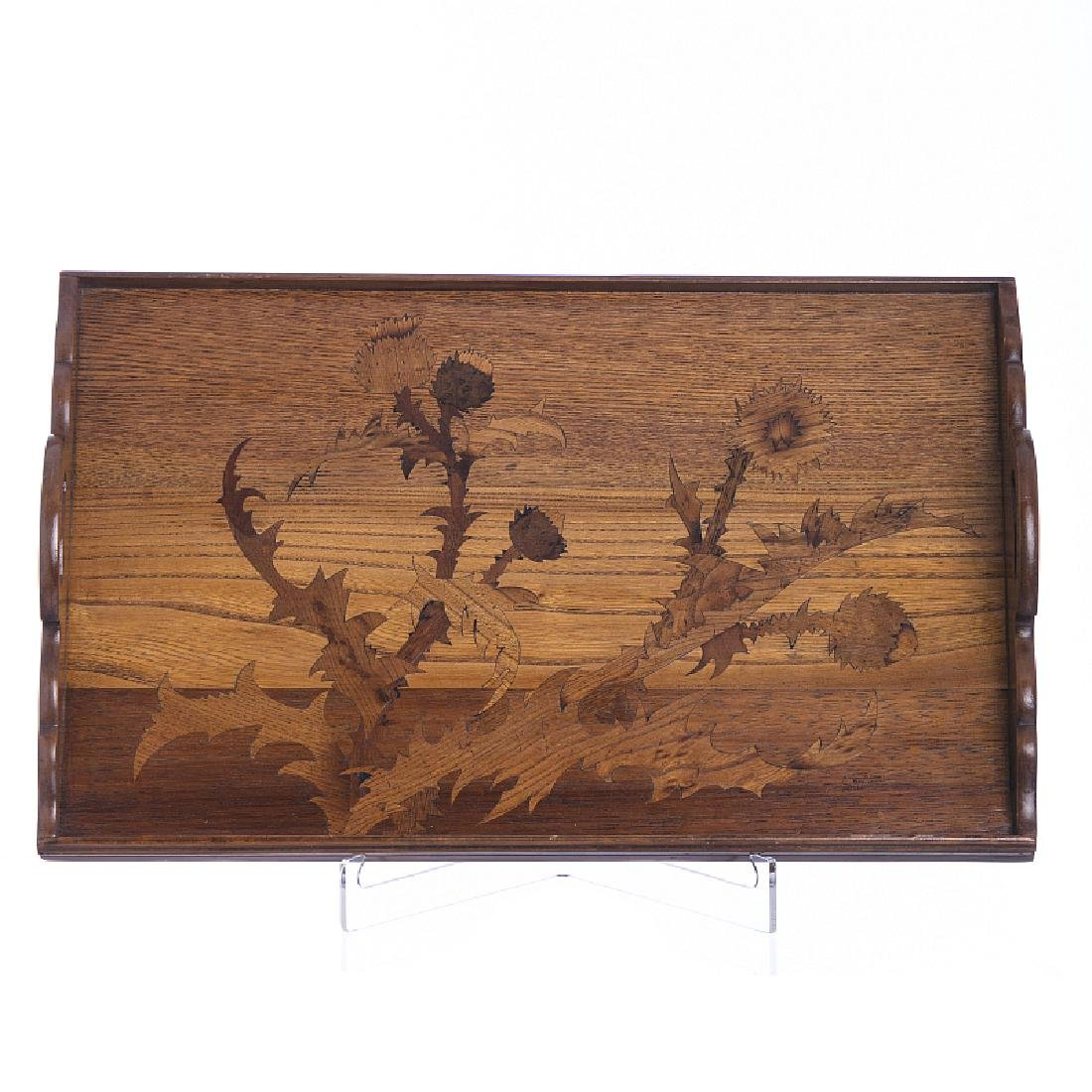 EMILE GALLE (1846-1904) - Tray