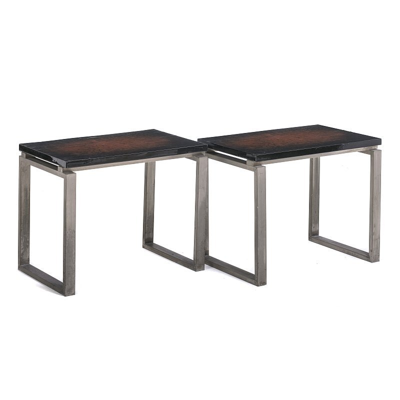 MAISON CHARLES - Pair of side tables
