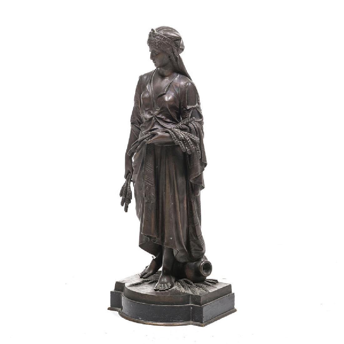 EUTROPE BOURET (1833-1906)  Female reaper