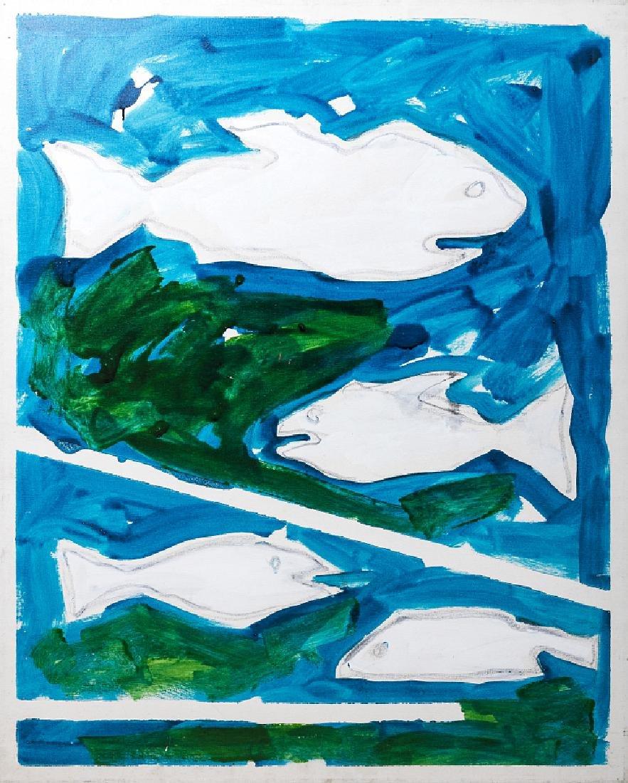 MARIO SCHIFANO (1934-1998)  Untitled