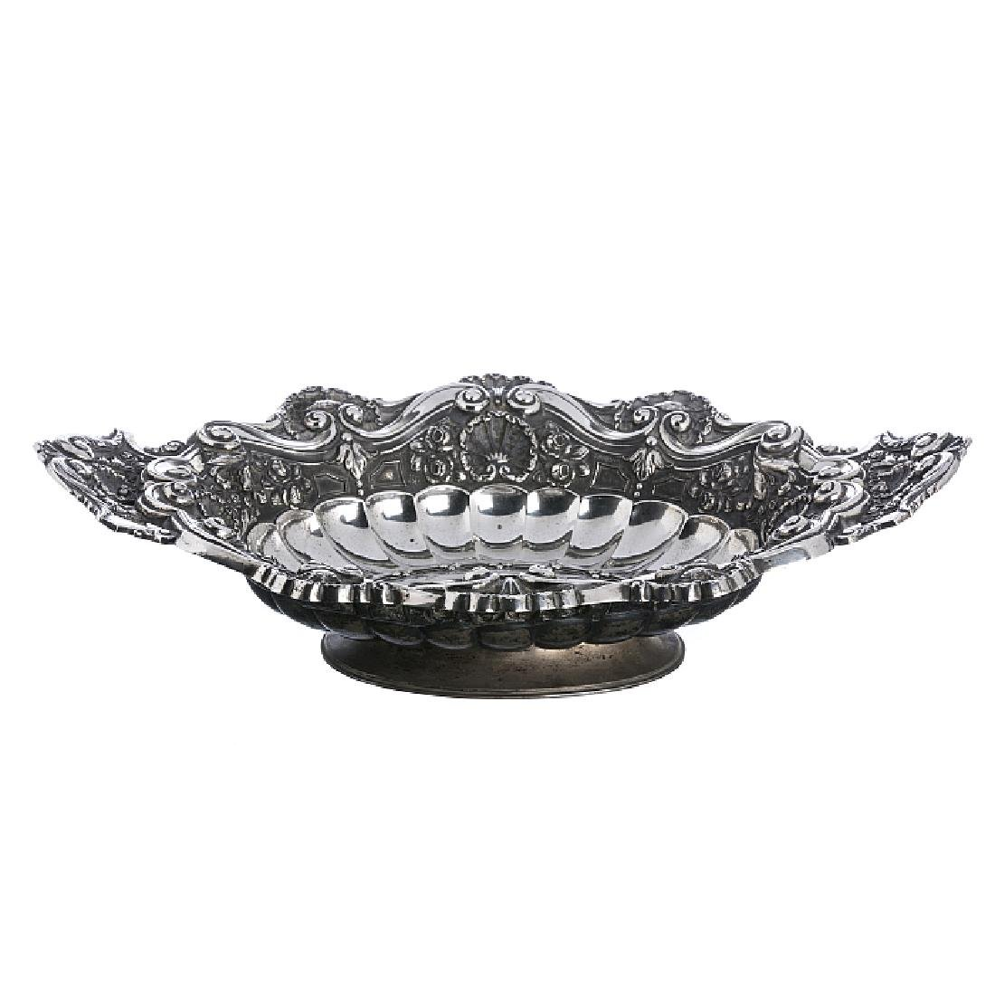 Centrepiece in silver, D. JoAo V style