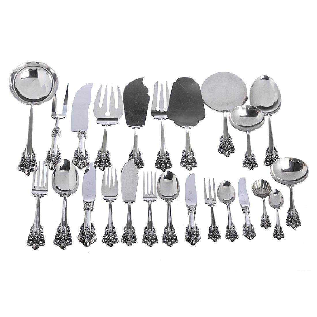 SUAREZ - Cutlery set in Spanish silver