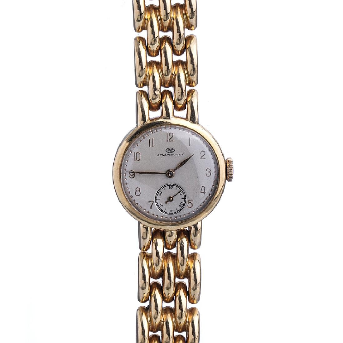 INTERNATIONAL WATCH Cº - Gold wristwatch for ladies