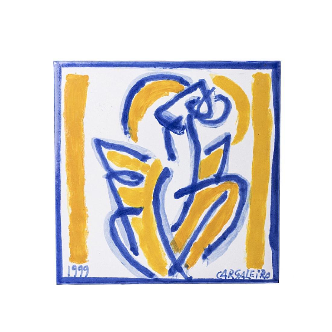 MANUEL CARGALEIRO (b. 1927) -  Tile