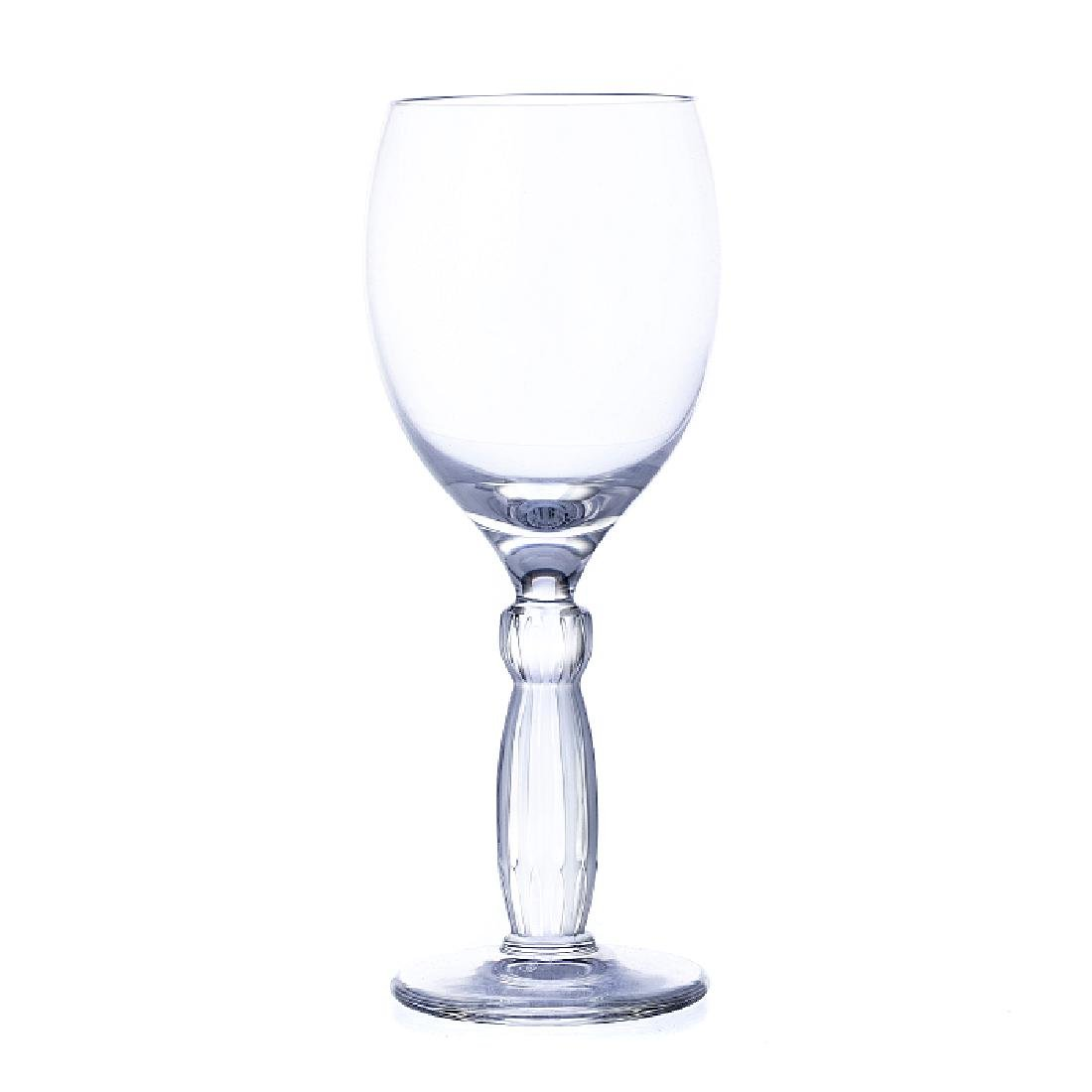 LALIQUE, FRANCE - Twelve wine glasses