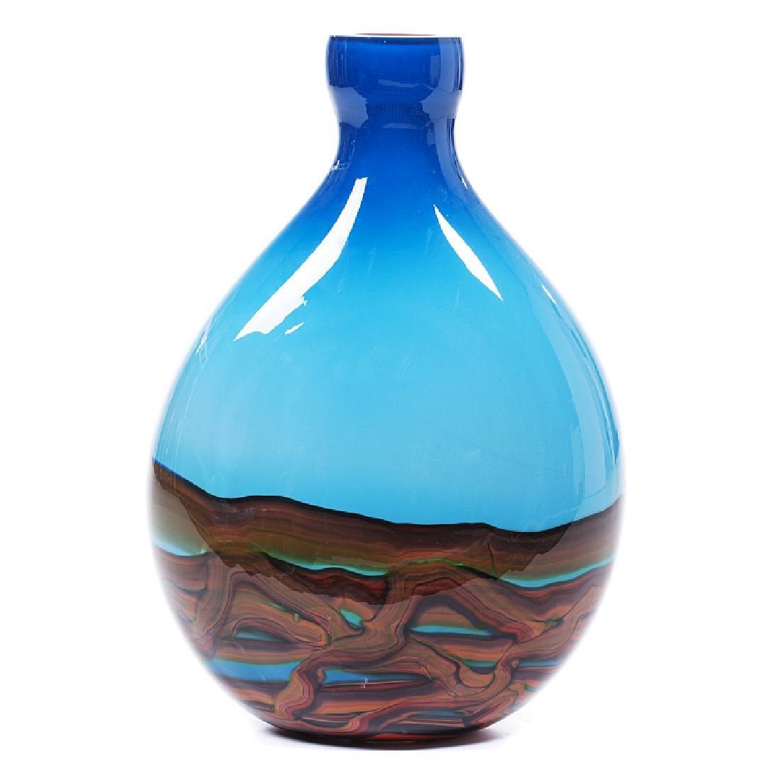 Large jug in Murano glass