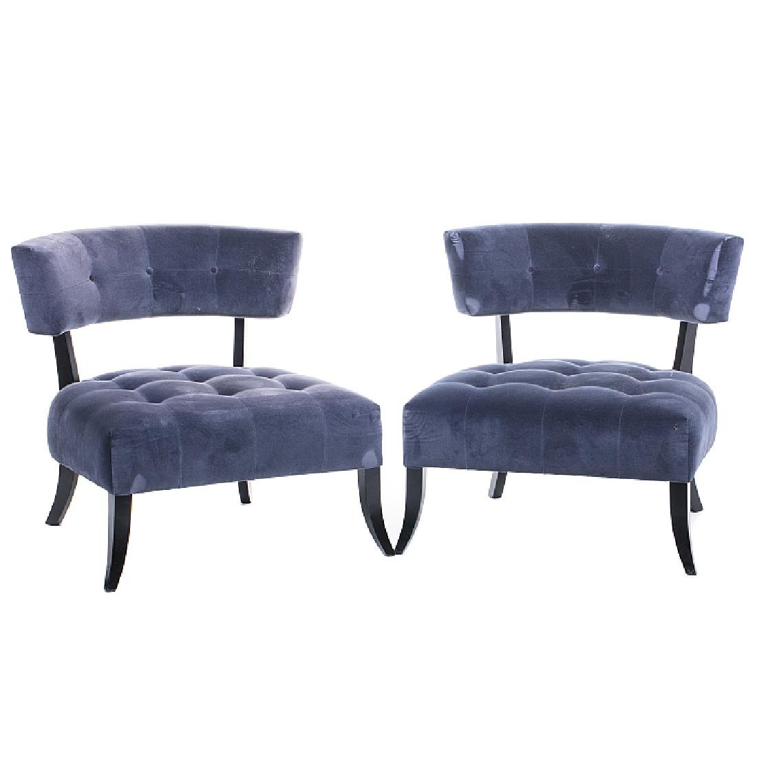 Style of WILLIAM HAINES (1900-1973) - Pair of chairs