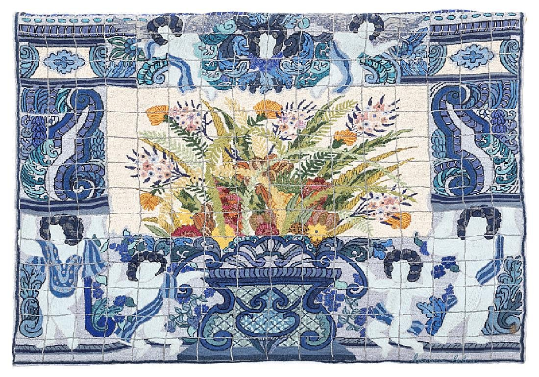 CONCESSA COLAÇO (b. 1929) - Tiling tapestry