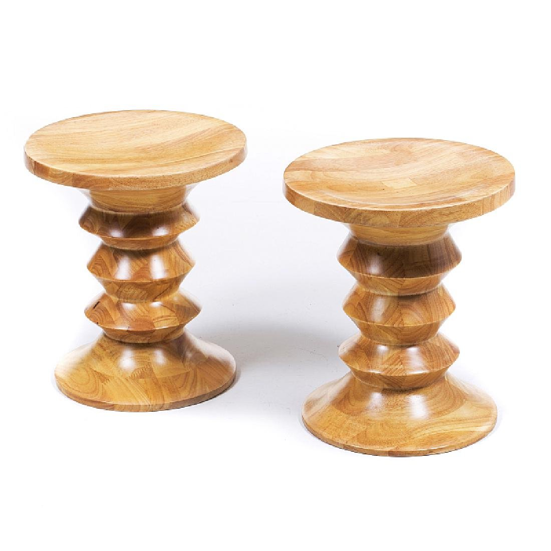 Pair of EAMES style stools