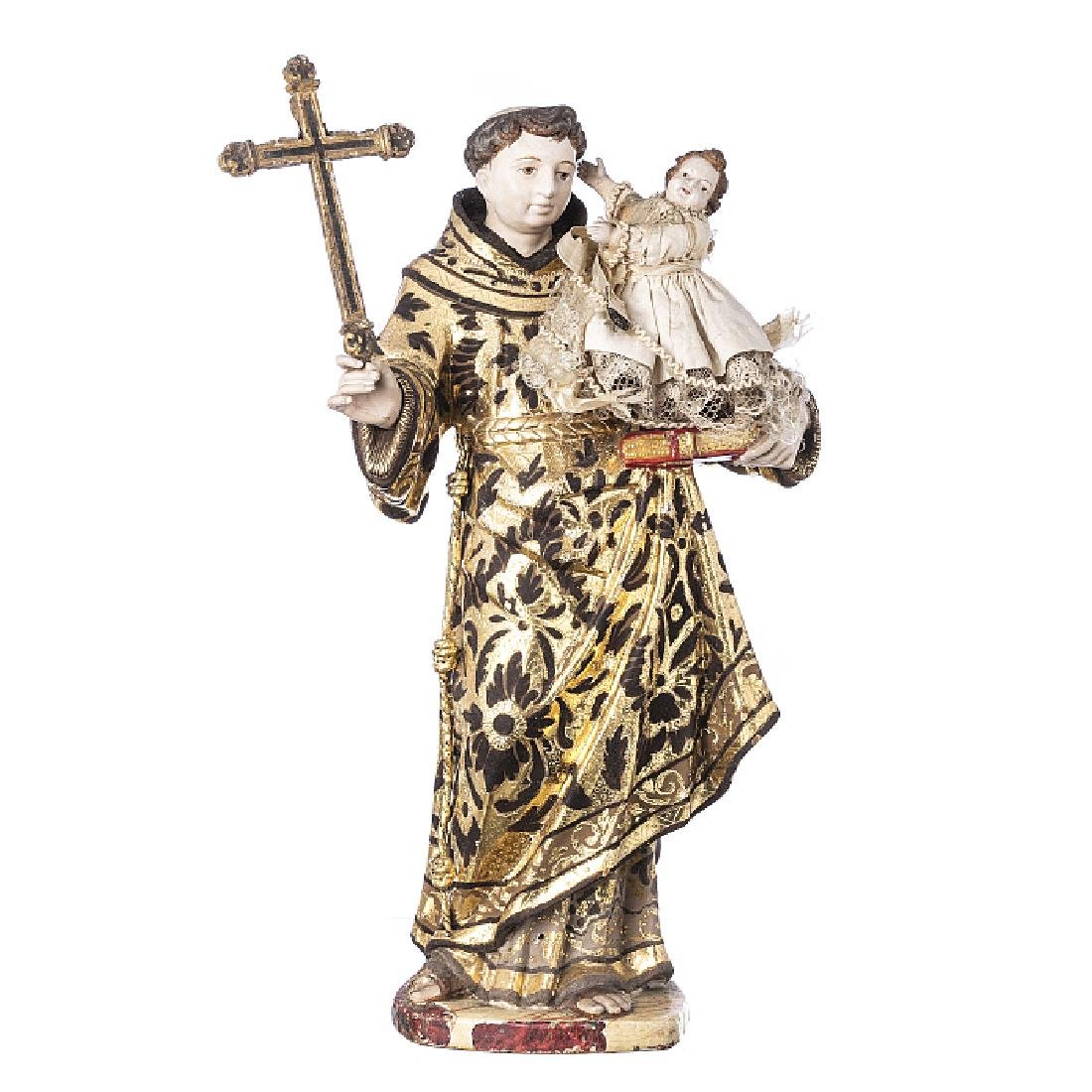 Saint Anthony with Child Jesus