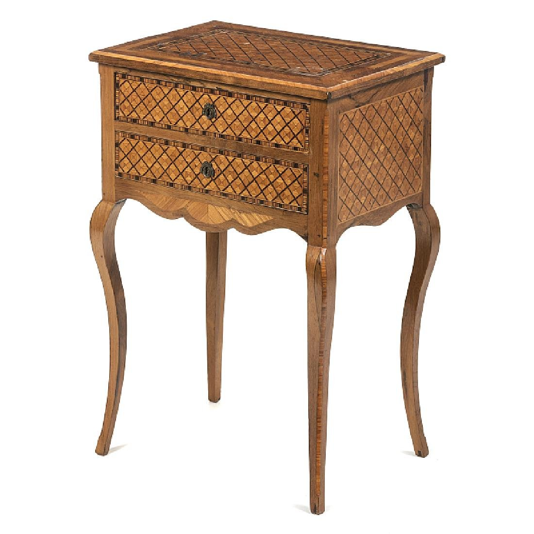 Bedside table, Louis XVI